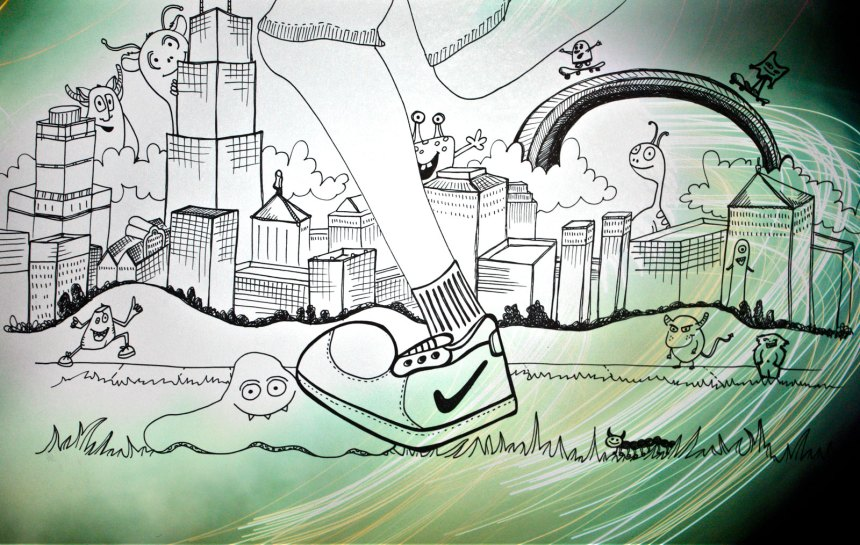 nikes in Chicago