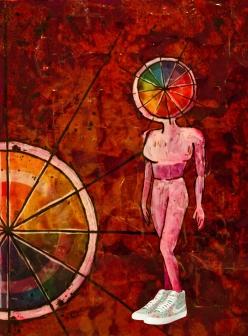color wheel nike girl
