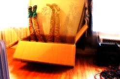 Nike and a box