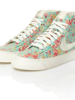 Liberty of London Nikes summer 2011
