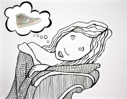 Nike Blazers and the girl who dreams too much