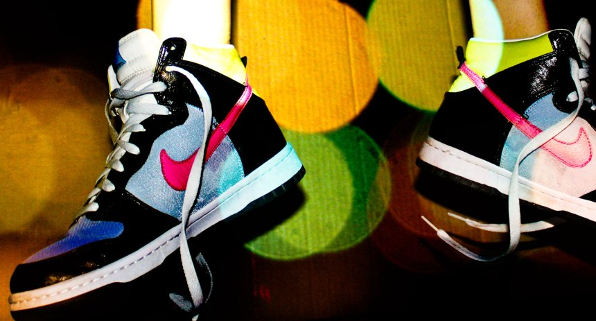 women's Nike up close