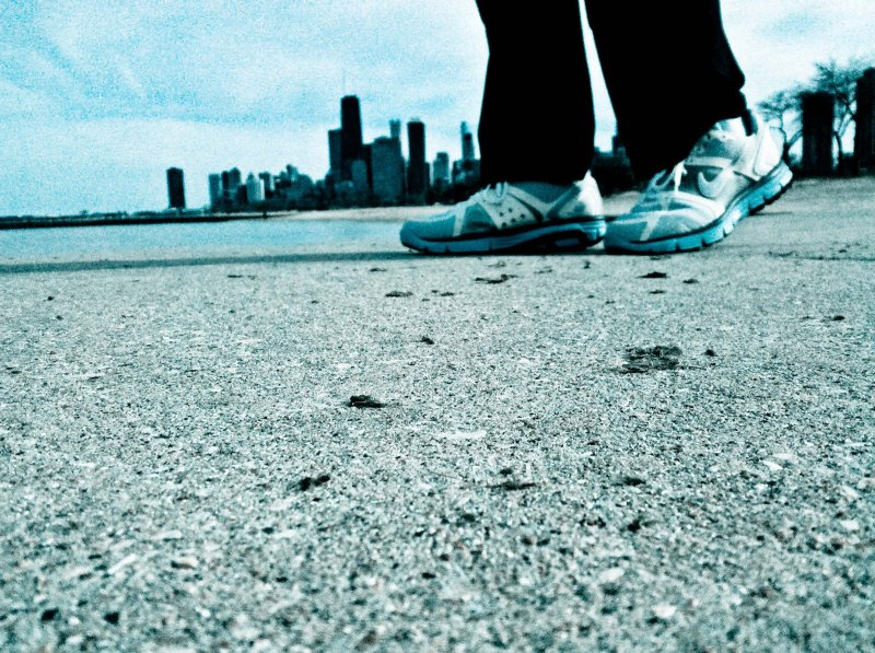 Lunar Glide shoes in Chicago