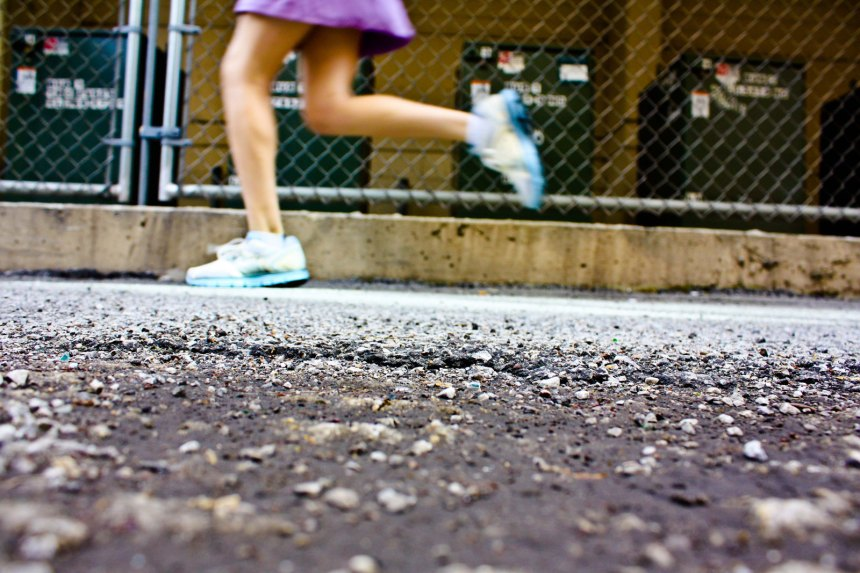 Nike in city