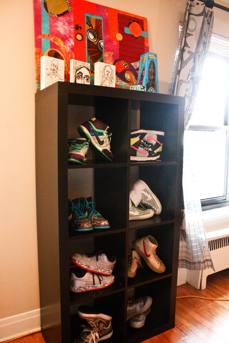 Nike on display