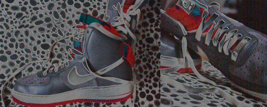 AFI Nike grey and orange
