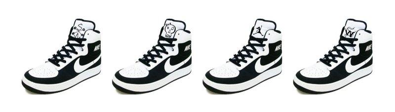 girl Nike logos
