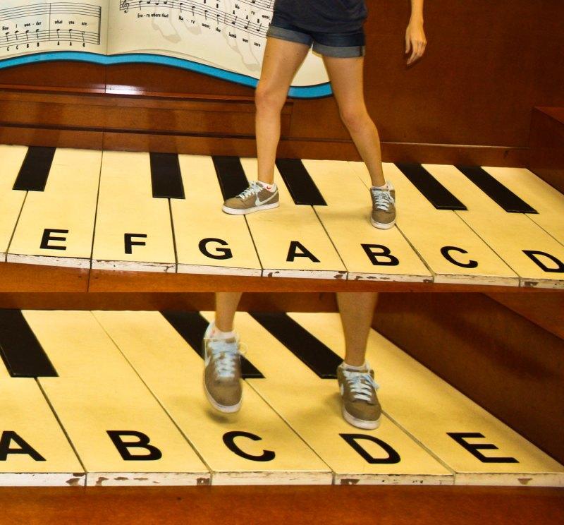 giant piano