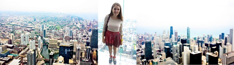 Nikes on the Sky Deck