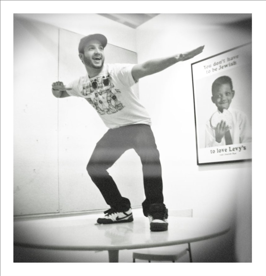 Mike table surfing