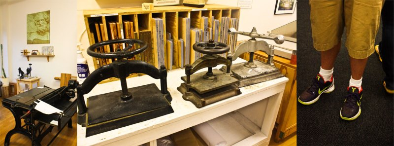 printing press equipment