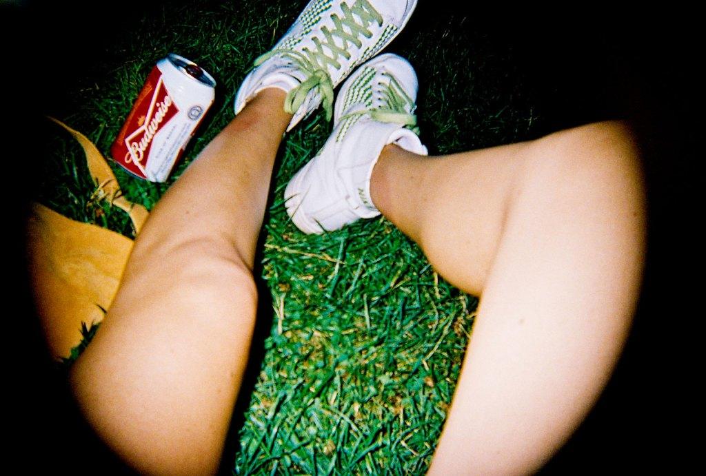 Nikes at night