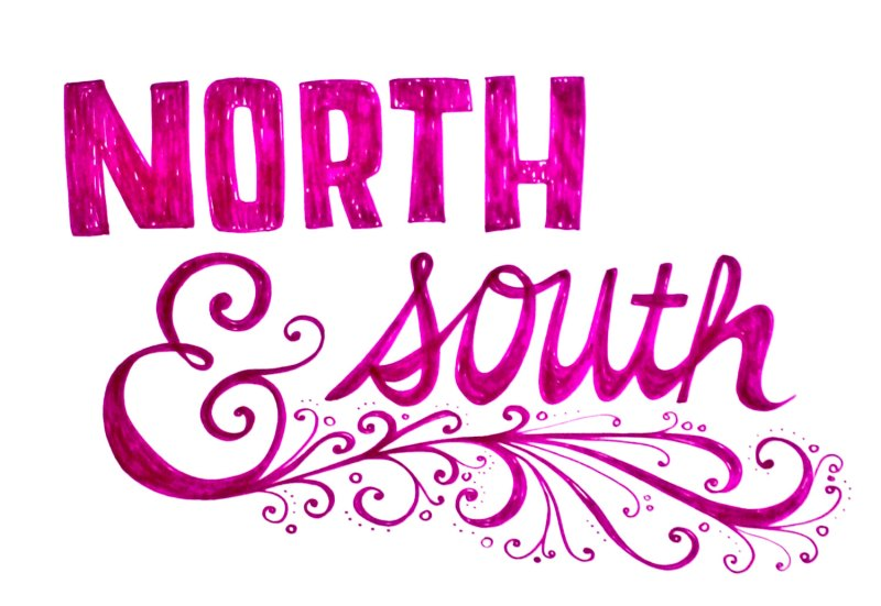 American classic novel, North and South