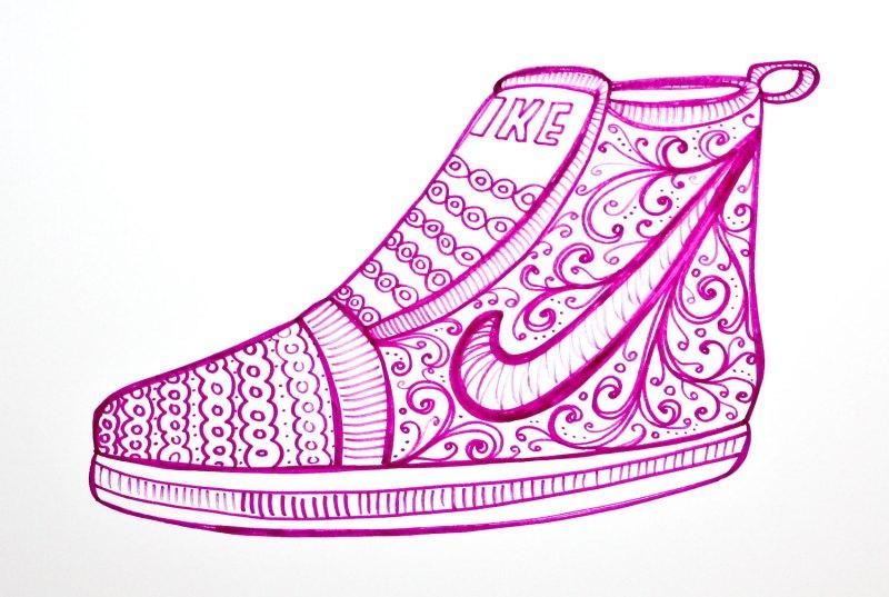 old fashioned Nike
