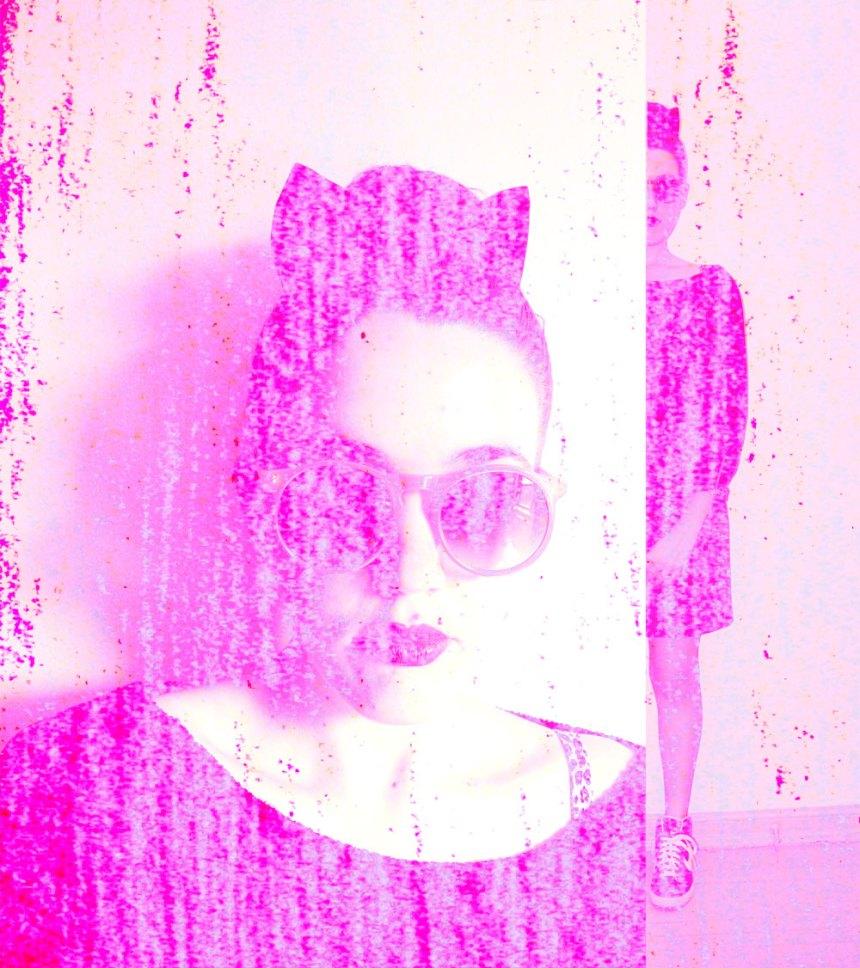 through rose-colored glasses