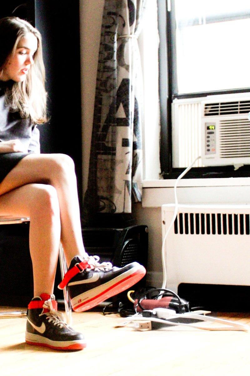 retro Nike style