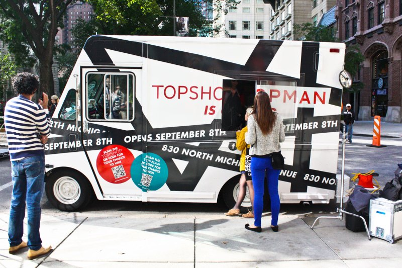 Topshop and Topman grand opening