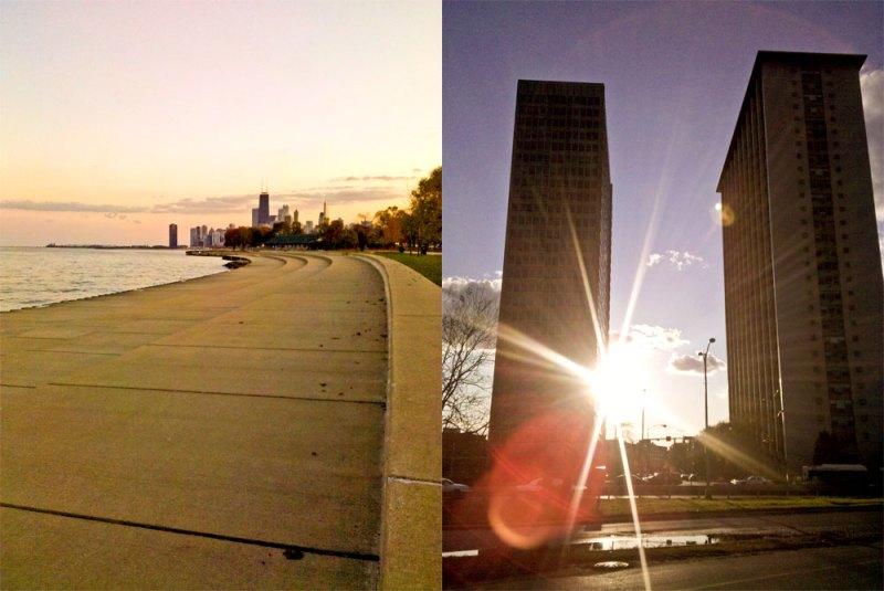 Lake Shore Path Chicago