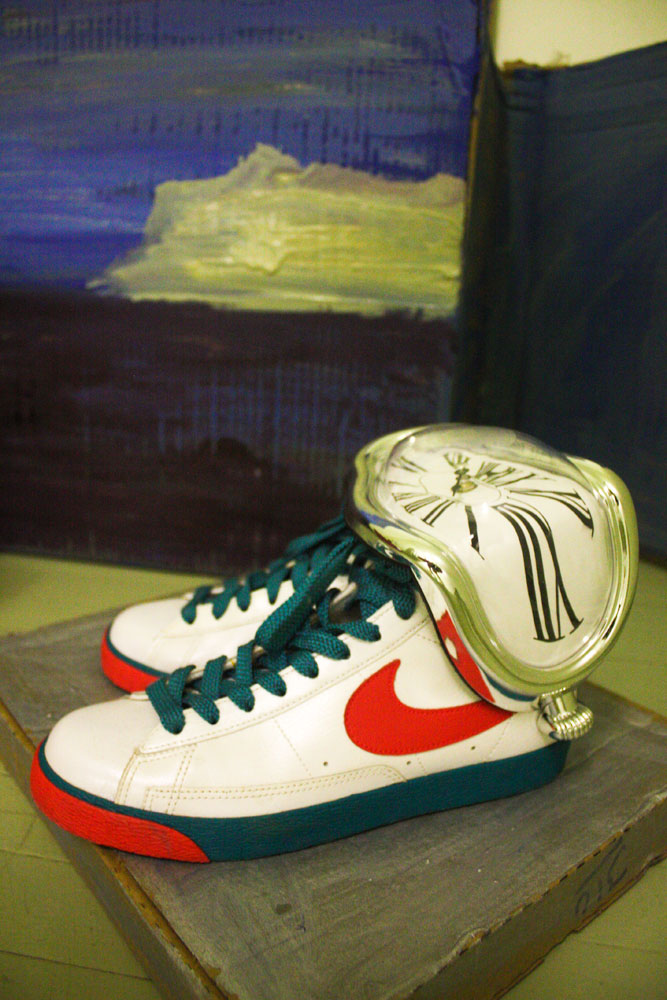 fine art and Nike