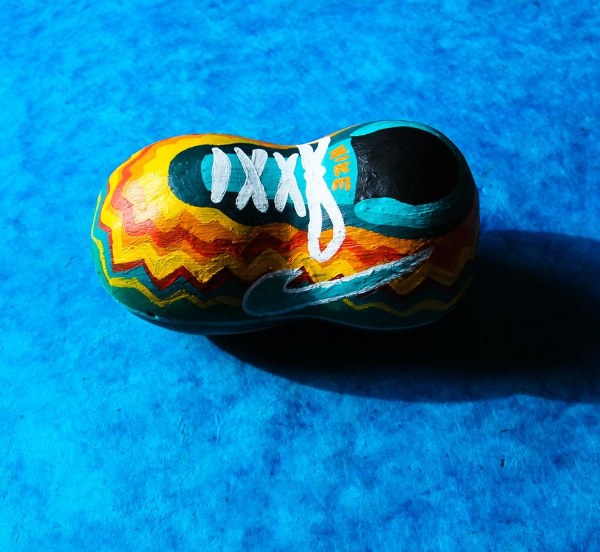 painted Nike