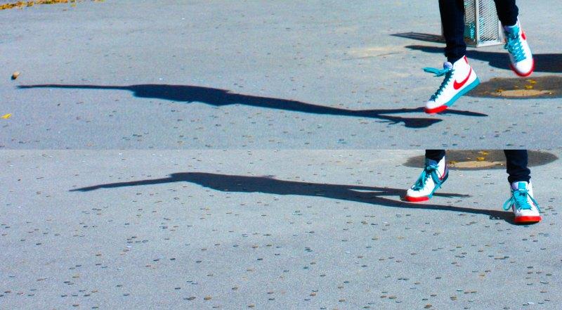 dancing Nikes