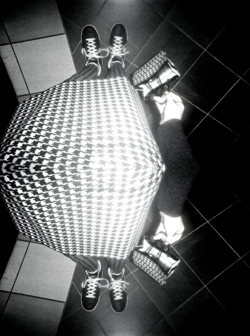 black and white houndstooth, Lady Gaga
