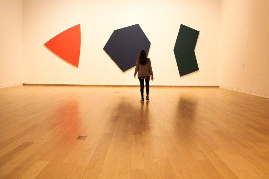 shapes at The Modern
