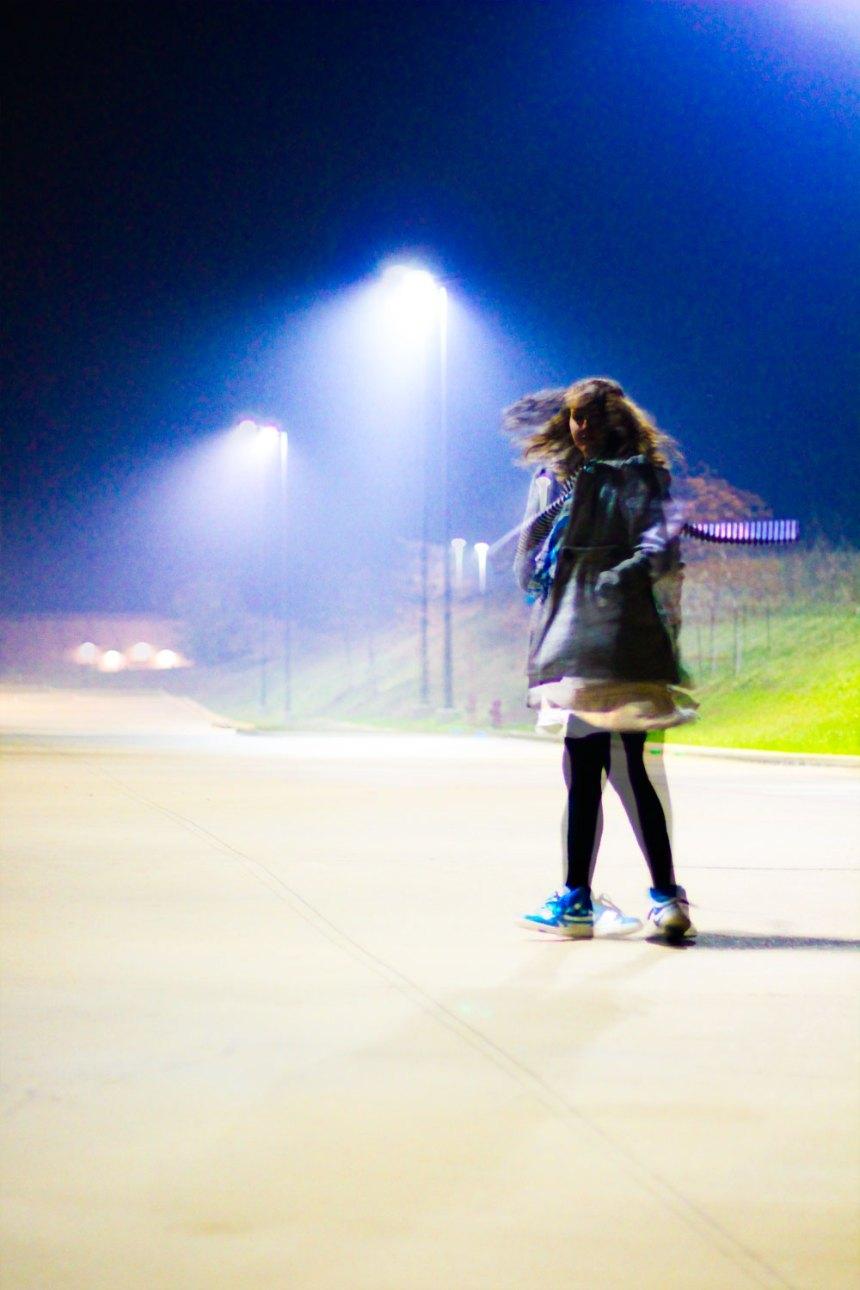 blur and light