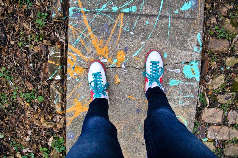 Nikes and Carhartt