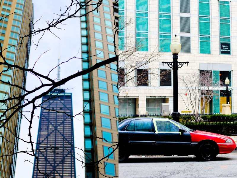 Chicago city life, Gold Coast