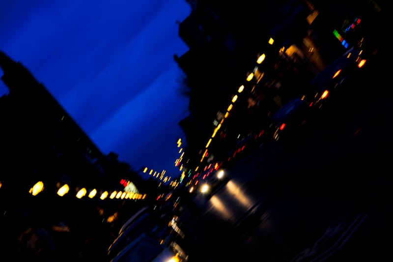 Chicago street lights