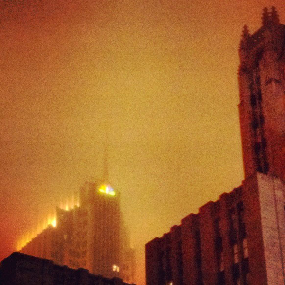 Chicago fog