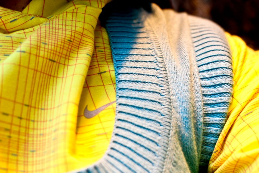 Nike work out clothes mixed with street style