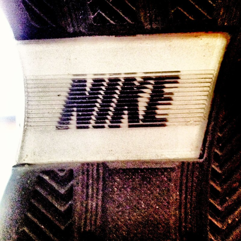 Nikes at a concert