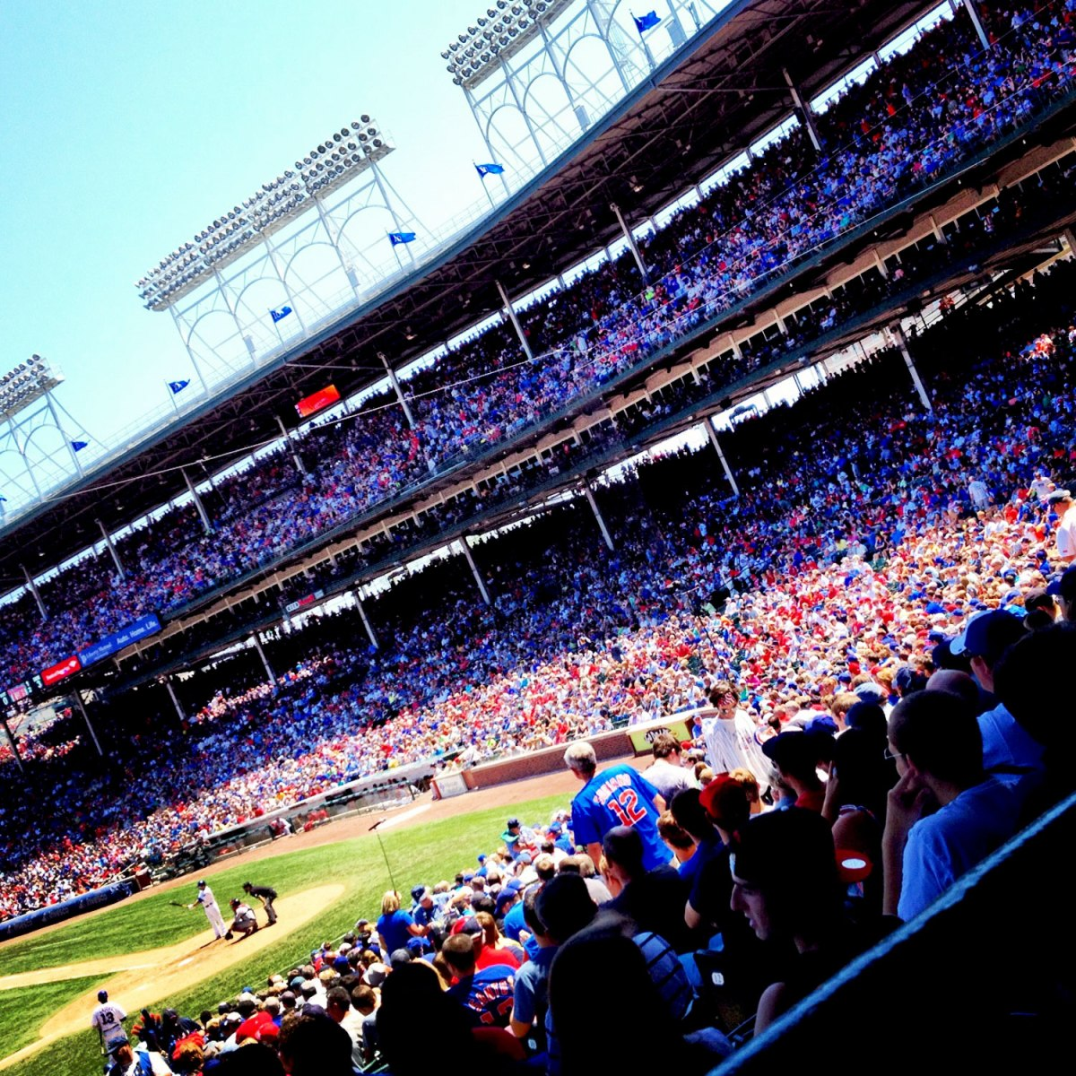 Cubs games and ghosts