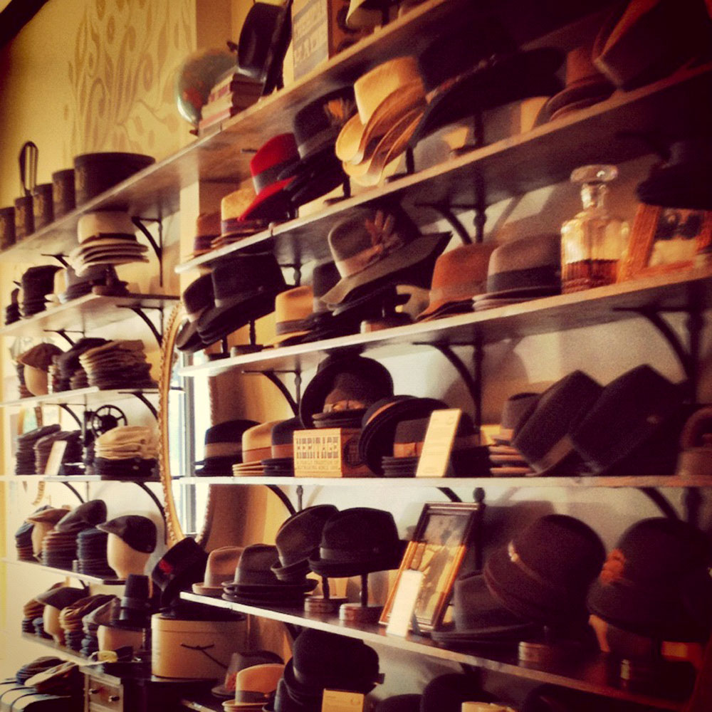 hats and Nikes