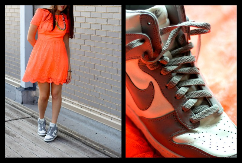 sneaker wedges -- for the love of nike