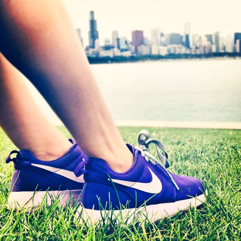 Nikes and Chicago love