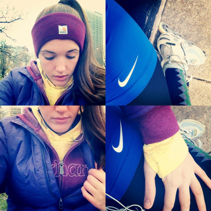 working out in the winter-- Nike