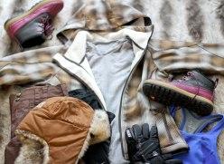 snowy weekend in WIsconsin with Nike