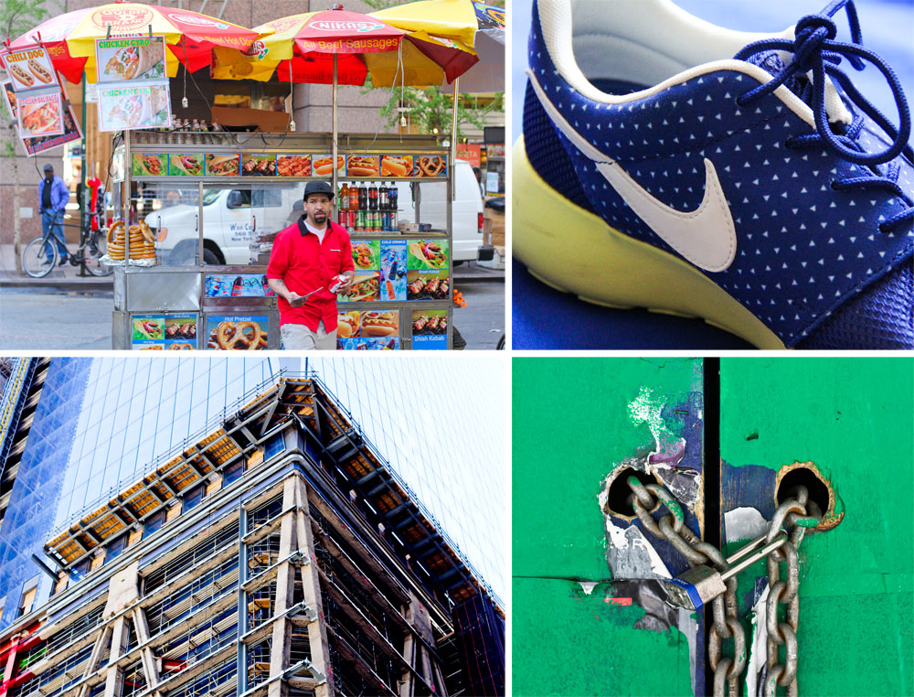 Nikes in New York