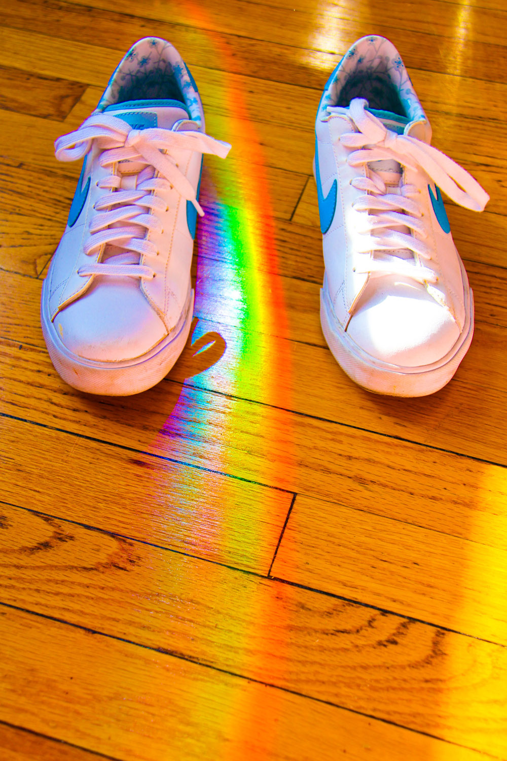 prisms, rainbows, and Nikes