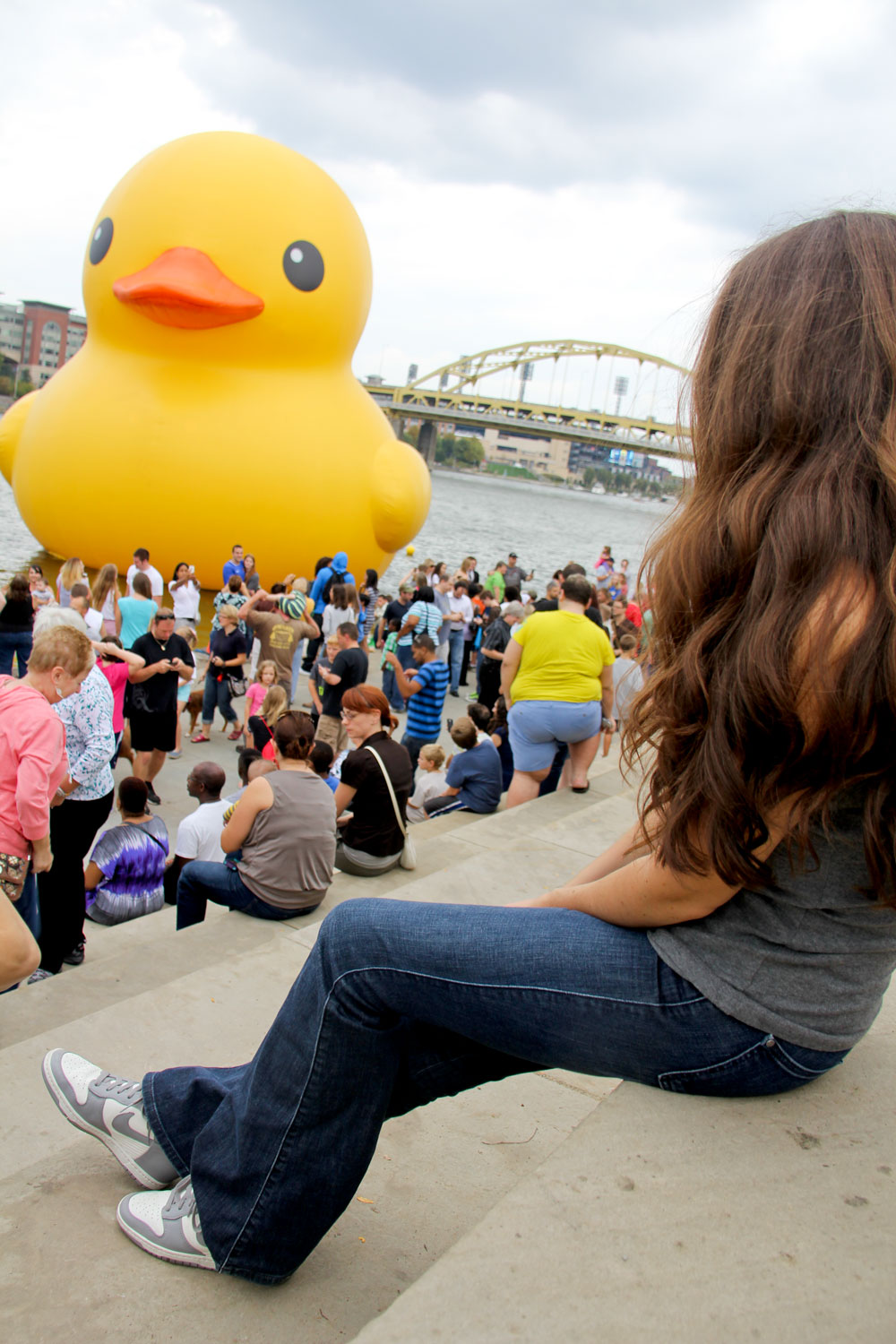 Pittsburgh rubber duck
