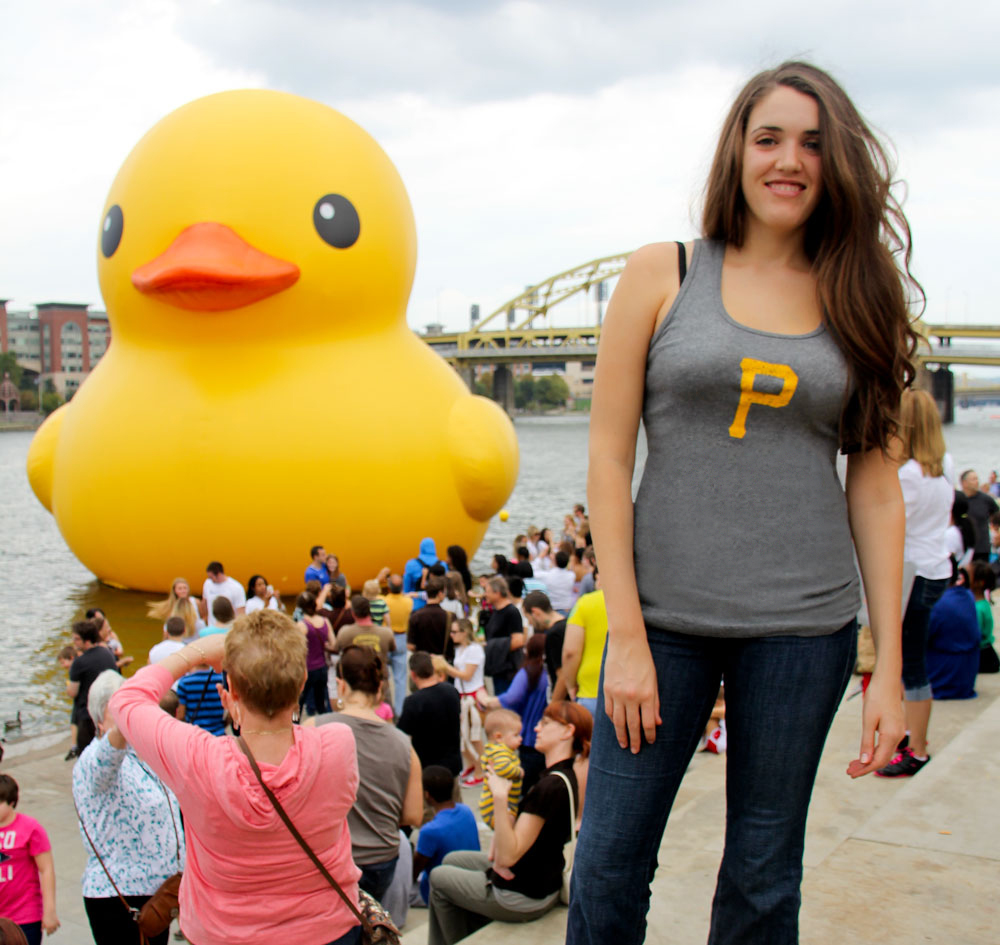 Pittsburgh duck