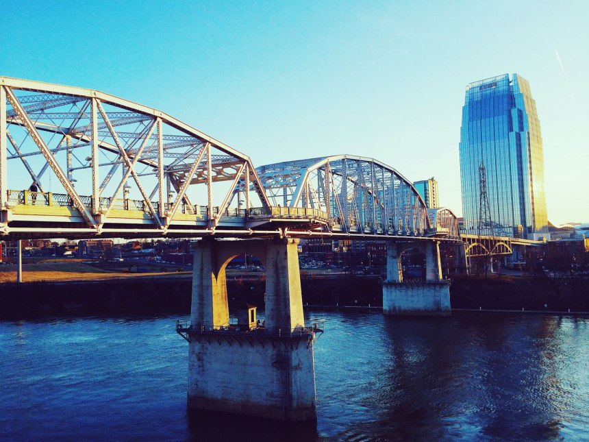 Rebar Girl in Nashville-- for the love of nike