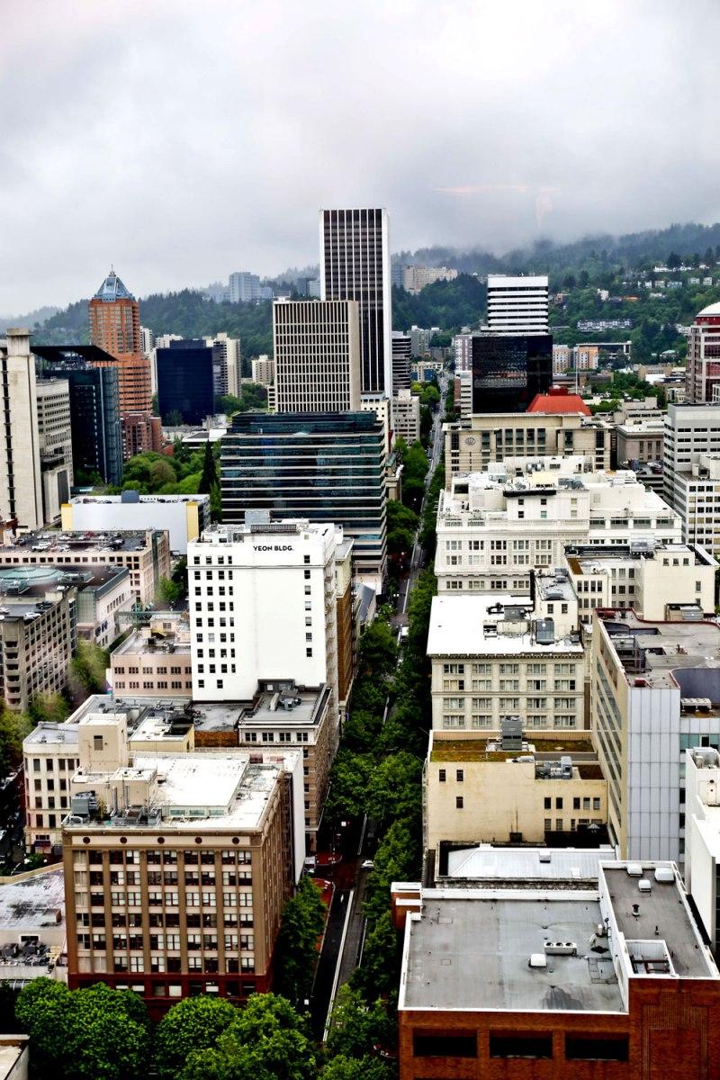 downtown Portland and fortheloveofnike