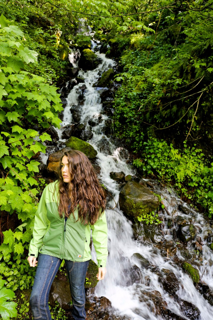 Portland-- chasing waterfalls in Nike