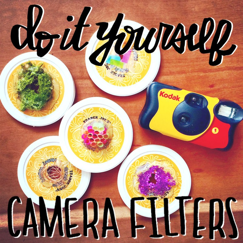 DIY camera filters / for the love of nike
