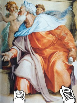 Happy Birthday Michelangelo / for the love of nike
