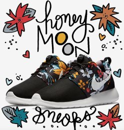 honeymoon sneakers / for the love of nike